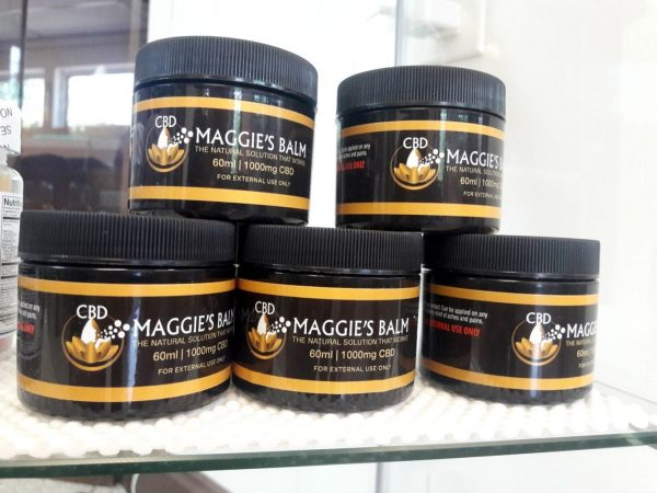 Maggie's Balm topical CBD sold by Nutrifarmacy in Pittsburgh
