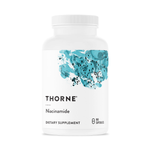 a bottle of niacinimide by Thorne Research