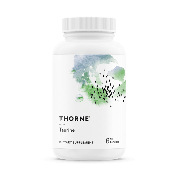taurine by thorne research