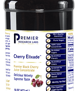 Premier Grown Black Cherry Juice Concentrate Delicious Velvety Supreme Taste Premier Cherry Nutrition