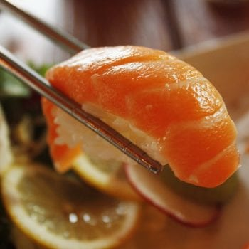 caution, that delicious piece of sushi may have parasites!