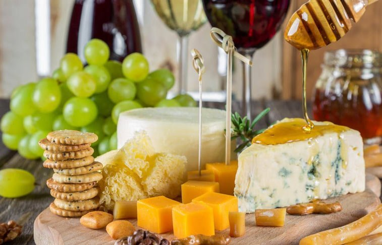 cheese and wine are among the foods that can promote gout