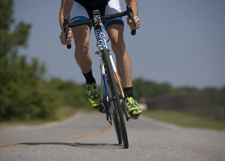 exercise, such as cycling, is great for your heart